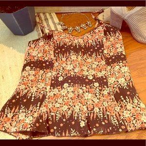 Caslon floral camisole